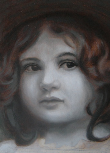 Free lessons of oil painting. Dead underpainting.