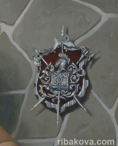 Картина маслом портрет катерины